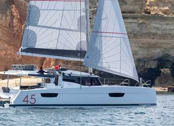 Rent a catamaran in Lavrion - Fountaine Pajot Elba 45