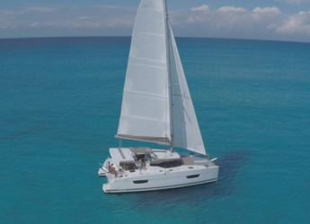 Rent a catamaran in Marina dell'Isola  - Fountaine Pajot Lucia 40