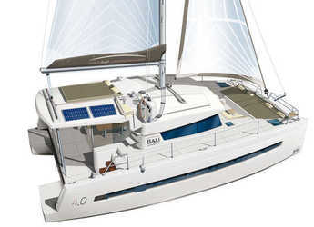 Rent a catamaran in Port Louis Marina - Bali 4.0 - 4 + 2 cab.