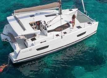 Chartern Sie katamaran in ACI Marina Dubrovnik - Fountaine Pajot Lucia 40