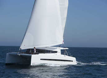 Rent a catamaran in Scrub Island - Bali 4.5 - 4 + 2 cab.