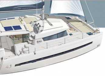 Rent a catamaran in Marina dell'Isola  - Bali 4.1 - 4 + 2 cab.