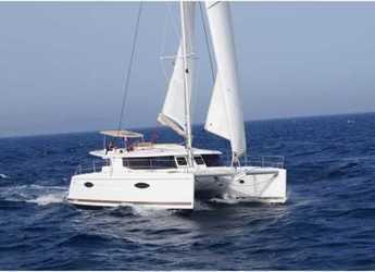 Rent a catamaran in ACI Marina Dubrovnik - Helia 44 - 4 + 2 cab.