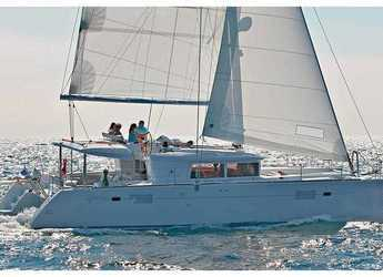 Chartern Sie katamaran in Rodney Bay Marina - Lagoon 450 - 4 + 2 cab.