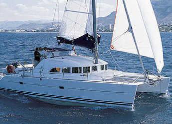 Rent a catamaran in Marina Gouvia - Lagoon 380 - 4 cab.