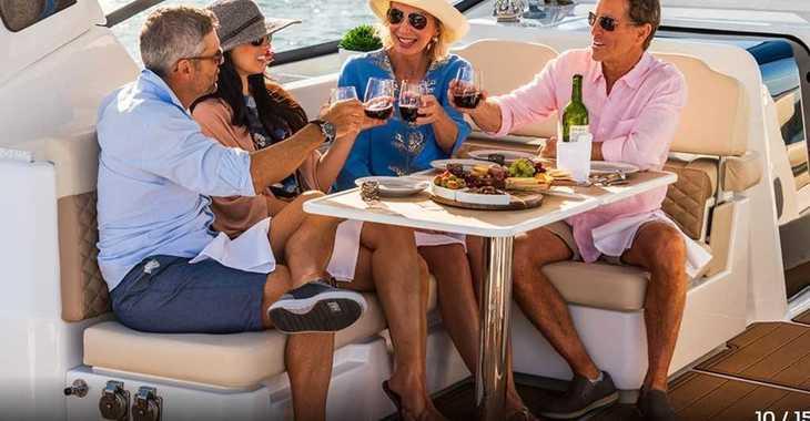 Rent a power catamaran  in Marina Le Marin - Aquila 36