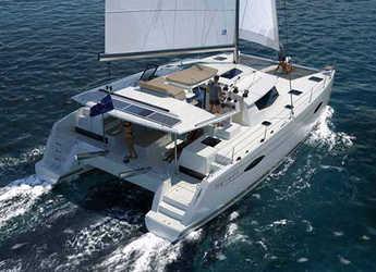 Chartern Sie katamaran in Jolly Harbour - Helia 44