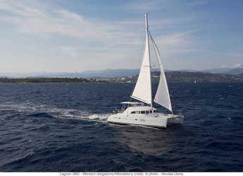 Chartern Sie katamaran in Jolly Harbour - Lagoon 380 - 4 cab.