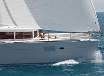 Chartern Sie katamaran in Jolly Harbour - Lagoon 450 - 3 + 1 cab.