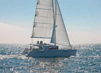 Chartern Sie katamaran in Jolly Harbour - Lagoon 450 F - 3 + 1 cab.