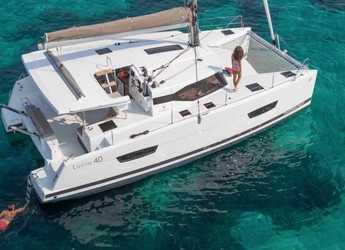 Rent a catamaran in Marina Gouvia - Fountaine Pajot Lucia 40 - 3 cab.