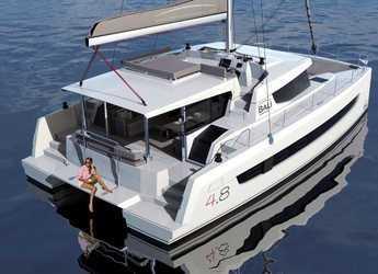 Chartern Sie katamaran in Marina di Portorosa - Bali 4.8 - 6 cab.