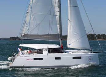 Chartern Sie katamaran in Marina di Portorosa - Nautitech 40 Open - 4 + 2 cab.