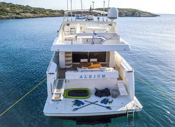 Rent a yacht in Agios Kosmas Marina - Ferretti 680