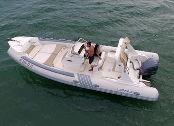 Rent a dinghy in Marina Ibiza - Lomac 790 IN