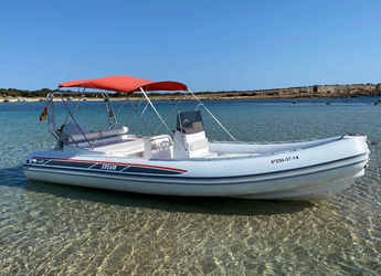 Rent a dinghy in Marina Ibiza - Selva 650 DS