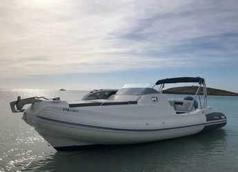 Rent a dinghy in Club Náutico Ibiza - Nuova Jolly Prince 23 Cabin