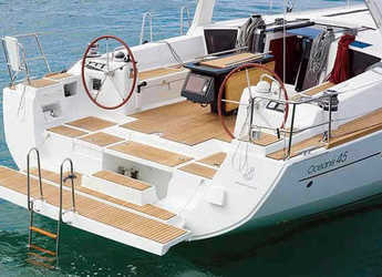 Rent a sailboat in Port of Pollensa - Oceanis 45