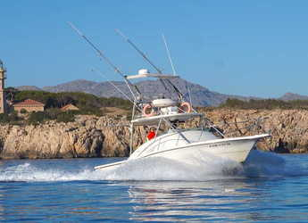 Rent a motorboat in Port of Pollensa - Pursuit Offshore 3000