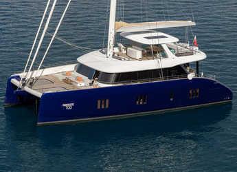 Rent a catamaran in Marina Kastela - Sunreef 80
