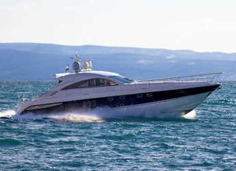 Rent a yacht in Stobreč Port - Fairline Targa 62