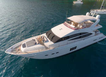 Chartern Sie yacht in Stobreč Port - Princess 72 Fly