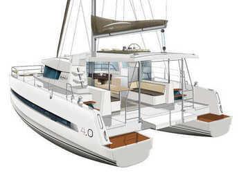 Rent a catamaran in Placencia - Bali 4.0 - 4 + 2 cab.