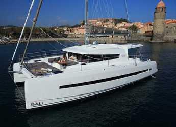 Rent a catamaran in Placencia - Bali 4.5 - 4 + 2 cab.