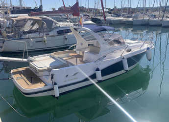 Rent a motorboat in Marina el Portet de Denia - Faeton 29 Scape
