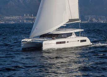 Rent a catamaran in Marina Fort Louis - Moorings 4500L (Exclusive Plus)