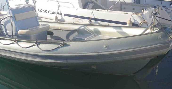 Alquilar neumática Novamarine 750 en Marina Botafoch, Ibiza (ciudad)