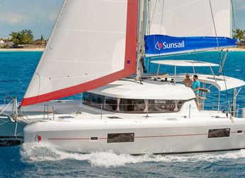 Chartern Sie katamaran in Paradise harbour club marina - Sunsail 424 (Premium)