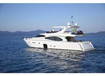 Chartern Sie yacht in D-Marin Borik - Ferretti 780