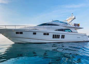 Rent a motorboat in Split (ACI Marina) - Fairline Squadron 78