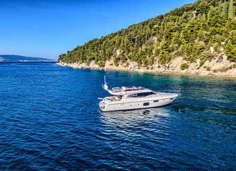 Rent a yacht in Split (ACI Marina) - Ferretti Yachts 620