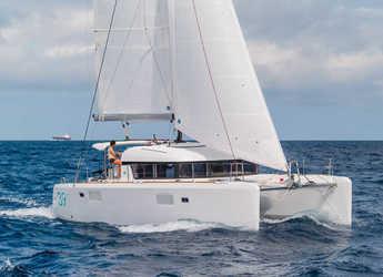 Rent a catamaran in Marina Mandraki - Lagoon 39