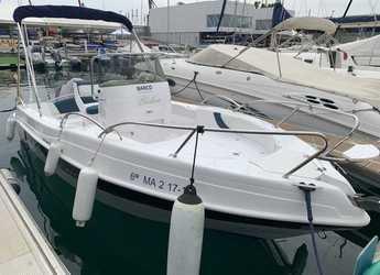 Alquilar lancha en Puerto de Málaga - Bluline 19 Open Plus