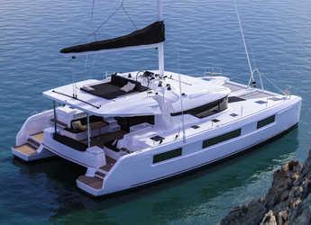 Rent a catamaran in Inner Harbour Marina (Road Town) - Lagoon 50