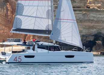Rent a catamaran in SCT Marina Trogir - Fountaine Pajot Elba 45