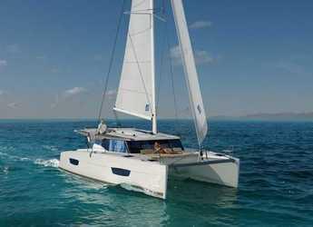 Rent a catamaran in SCT Marina Trogir - Fountaine Pajot Lucia 40