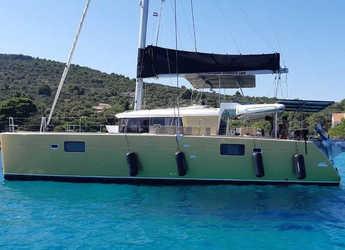 Rent a catamaran in Marine Pirovac - Lagoon 450