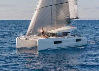 Rent a catamaran in Marina Mandraki - Lagoon 40/3 cbs