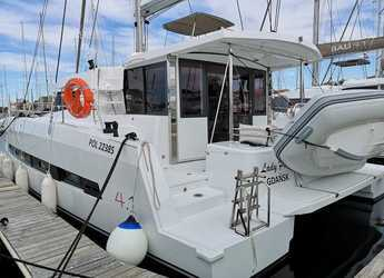 Rent a catamaran in Marina Mandalina - Bali 4.1-3 cab. ROLL MAINSAIL