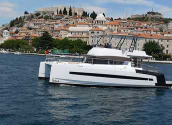 Rent a power catamaran in Marina Mandalina - Bali 4.3 MY