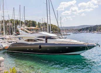 Chartern Sie yacht in ACI Marina Split - Sunseeker 84