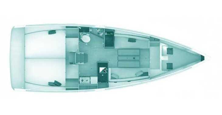 Rent a sailboat in Loutraki Harbour - Sun Odyssey 349