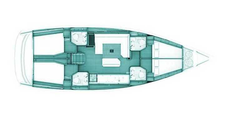 Rent a sailboat in Loutraki Harbour - Sun Odyssey 469