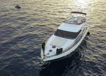Rent a yacht in Marina Skiathos  - Fairline Squadron 55