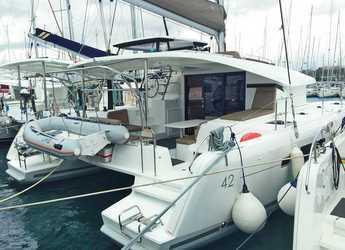 Rent a catamaran in Marina Paleros - Lagoon 42