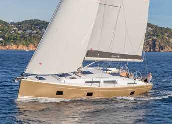 Rent a sailboat in Cleopatra marina - Hanse 418